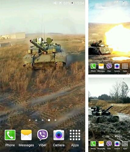 Download live wallpaper Tanks 4K for Android. Get full version of Android apk livewallpaper Tanks 4K for tablet and phone.