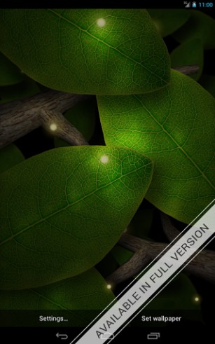 Download livewallpaper Tap leaves for Android. Get full version of Android apk livewallpaper Tap leaves for tablet and phone.