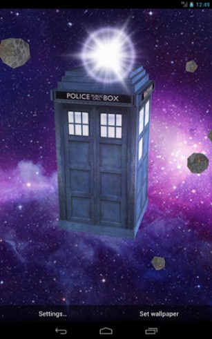 Download livewallpaper Tardis 3D for Android. Get full version of Android apk livewallpaper Tardis 3D for tablet and phone.