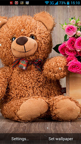 Teddy bear by Wallpaper qHD