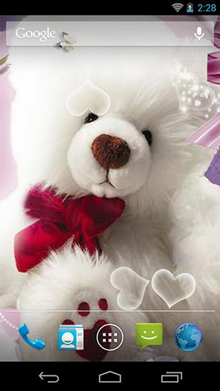 bear live wallpaper  Teddy bear HD live wallpaper for Android. Teddy bear HD free ...