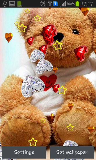 Download Teddy bear: Love - livewallpaper for Android. Teddy bear: Love apk - free download.