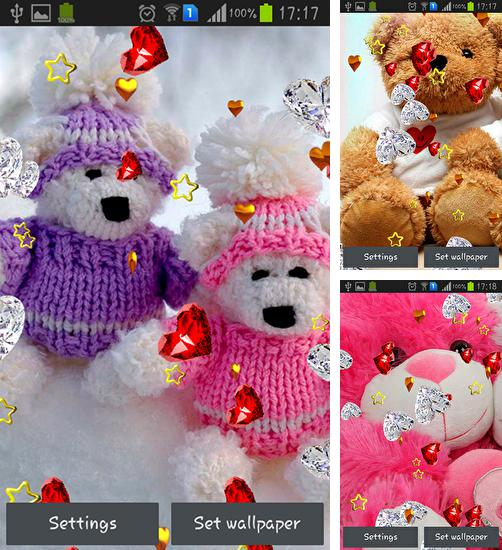 In addition to live wallpaper Aquarium by Cool free apps for Android phones and tablets, you can also download Teddy bear: Love for free.