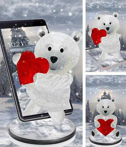 Download live wallpaper Teddy bear: Love 3D for Android. Get full version of Android apk livewallpaper Teddy bear: Love 3D for tablet and phone.