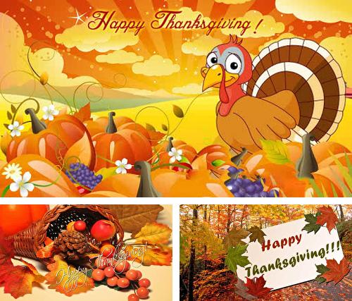 Thanksgiving by Holiday Wallpaper