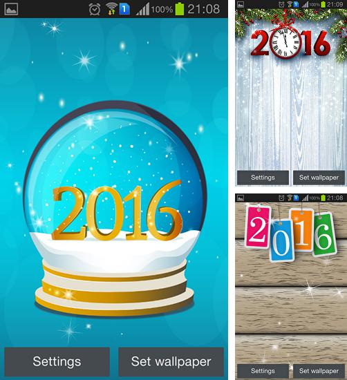 In addition to live wallpaper Hamster for Android phones and tablets, you can also download The 2016 for free.