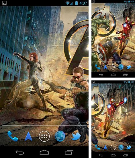 Download live wallpaper The avengers for Android. Get full version of Android apk livewallpaper The avengers for tablet and phone.