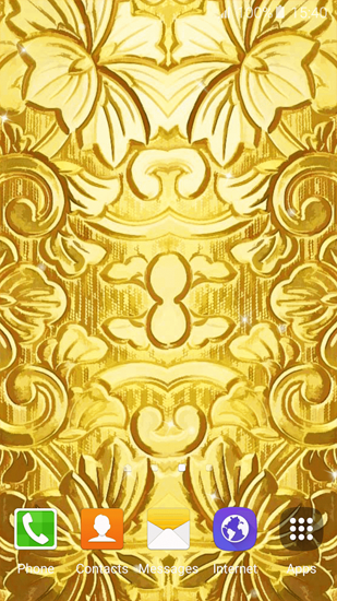 Screenshots of the Gold for Android tablet, phone.