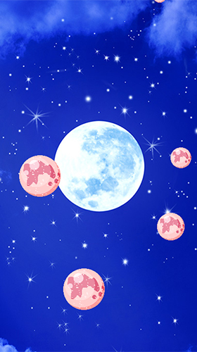 The Moon für Android spielen. Live Wallpaper Der Mond kostenloser Download.