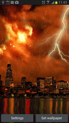 Download livewallpaper The real thunderstorm HD (Chicago) for Android. Get full version of Android apk livewallpaper The real thunderstorm HD (Chicago) for tablet and phone.