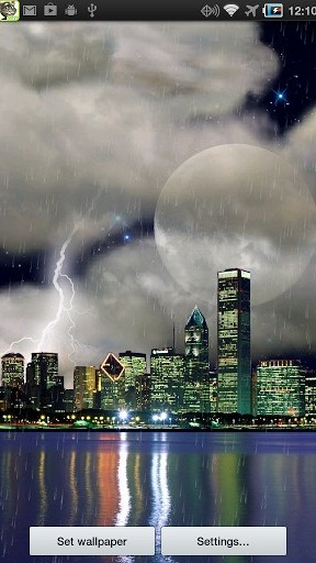 Download The real thunderstorm HD (Chicago) - livewallpaper for Android. The real thunderstorm HD (Chicago) apk - free download.