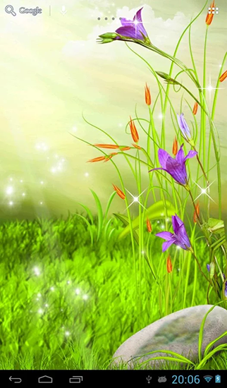 Download The sparkling flowers - livewallpaper for Android. The sparkling flowers apk - free download.