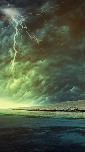 Screenshots of the Thunderstorm by Creative Factory Wallpapers for Android tablet, phone.