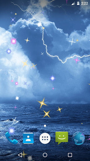 Screenshots of the Thunderstorm by Pop tools for Android tablet, phone.