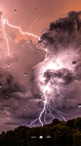 Thunderstorm by Ultimate Live Wallpapers PRO live wallpaper for Android. Thunderstorm by Ultimate Live Wallpapers PRO free download for tablet and phone.