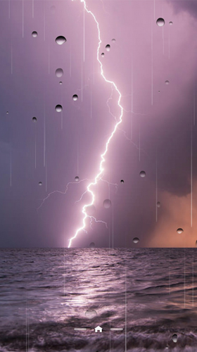 Download livewallpaper Thunderstorm by Ultimate Live Wallpapers PRO for Android. Get full version of Android