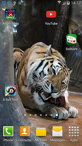 Screenshots von Tigers: shake and change für Android-Tablet, Smartphone.