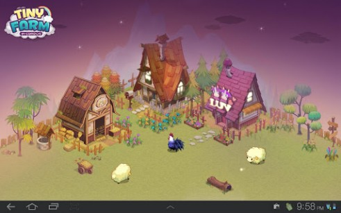 Download Tiny farm - livewallpaper for Android. Tiny farm apk - free download.