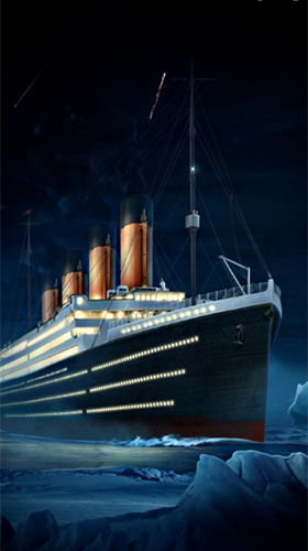 Screenshots do Titanic 3D para tablet e celular Android.