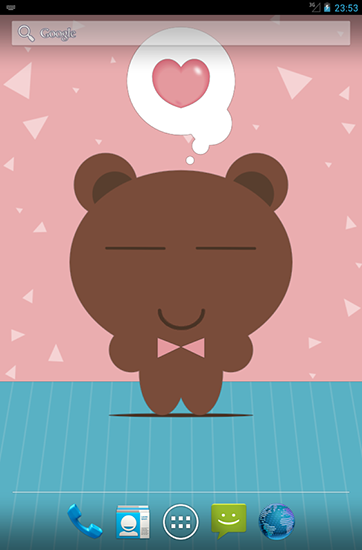 Descargar Tony Bear Para Android Gratis El Fondo De Pantalla