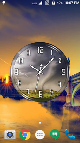 Download livewallpaper Tornado: Clock for Android. Get full version of Android apk livewallpaper Tornado: Clock for tablet and phone.