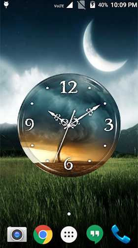 Download Tornado: Clock - livewallpaper for Android. Tornado: Clock apk - free download.