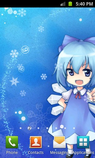 Download livewallpaper Touhou Cirno for Android. Get full version of Android apk livewallpaper Touhou Cirno for tablet and phone.