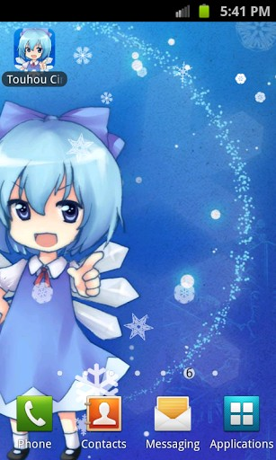 Download Touhou Cirno - livewallpaper for Android. Touhou Cirno apk - free download.