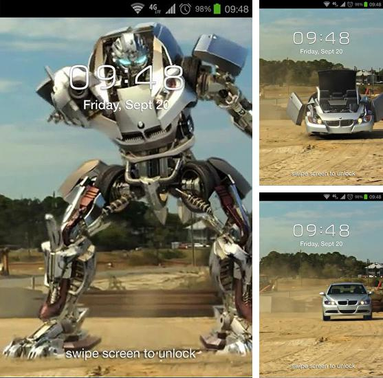 In addition to live wallpaper Ring of power 3D for Android phones and tablets, you can also download Transformer car for free.