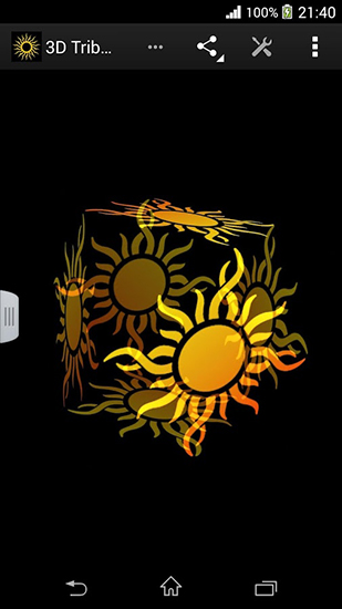 Download Tribal sun 3D - livewallpaper for Android. Tribal sun 3D apk - free download.