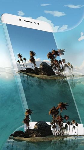 Screenshots of the Tropical island 3D for Android tablet, phone.