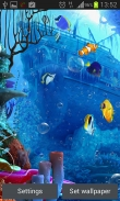 Under the sea - download free live wallpapers for Android. Under the sea full Android apk version for tablets and phones.