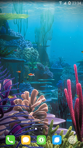 Screenshots of the Underwater world by orchid for Android tablet, phone.
