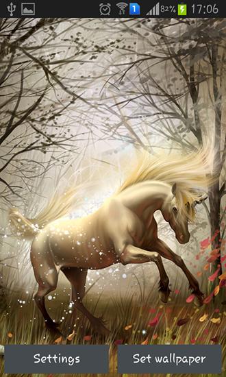 unicorn pour android t l charger gratuitement fond d 39 cran anim licorne sous android. Black Bedroom Furniture Sets. Home Design Ideas