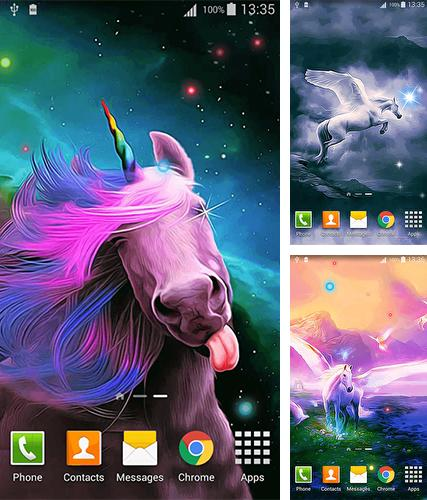 Download live wallpaper Unicorn by Cute Live Wallpapers And Backgrounds for Android. Get full version of Android apk livewallpaper Unicorn by Cute Live Wallpapers And Backgrounds for tablet and phone.
