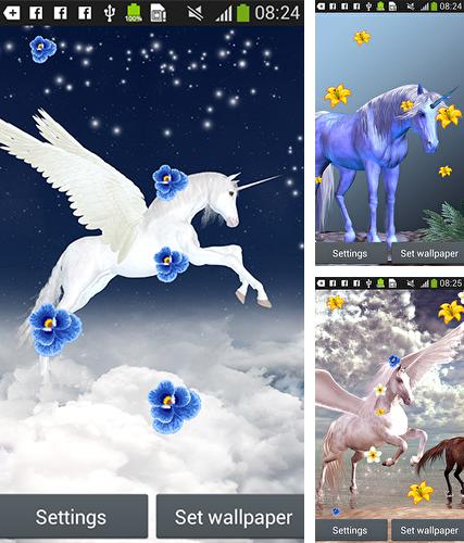 Unicorn by Latest Live Wallpapers