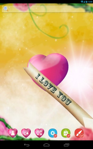 Ur 3d Love Heart Live Wallpaper For Android Ur 3d Love Heart Free