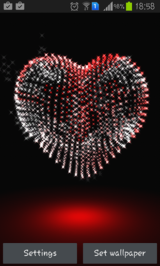 Valentine Day Heart 3d Live Wallpaper For Android Valentine Day