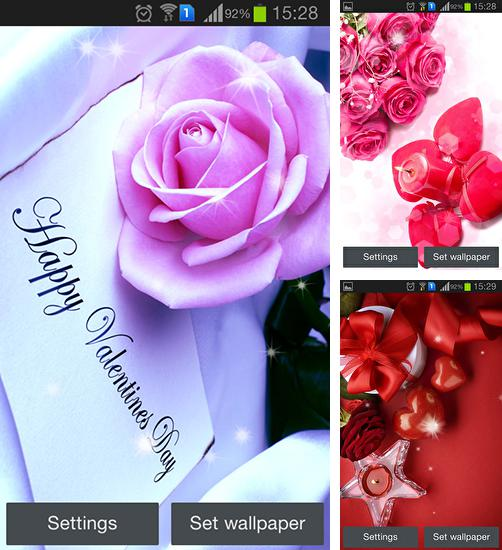 In addition to live wallpaper Cataclysmica for Android phones and tablets, you can also download Valentine's Day by Hq awesome live wallpaper for free.