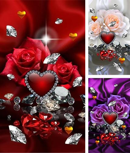 Download live wallpaper Valentines Day diamonds for Android. Get full version of Android apk livewallpaper Valentines Day diamonds for tablet and phone.
