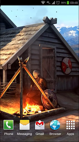 Screenshots of the Vikings 3D for Android tablet, phone.