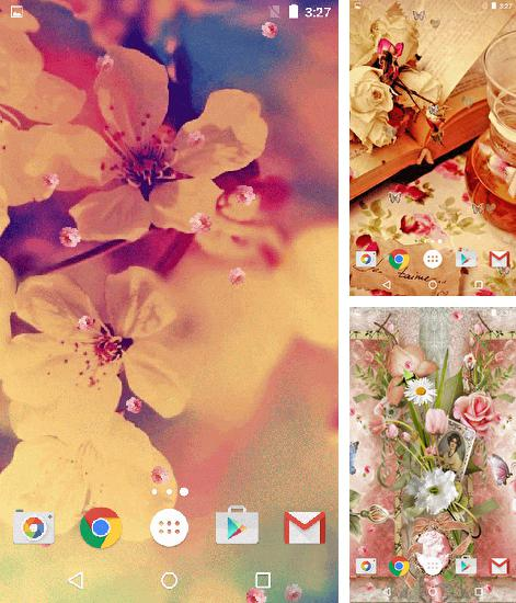 In addition to live wallpaper Mantaray for Android phones and tablets, you can also download Vintage for free.