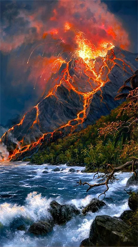 Download livewallpaper Volcano for Android. Get full version of Android apk livewallpaper Volcano for tablet and phone.