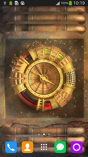 Wallpaper with clock para Android baixar grátis. O papel ...