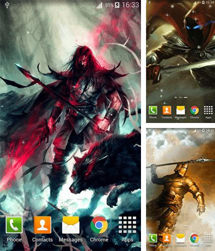 Download live wallpaper Warrior for Android. Get full version of Android apk livewallpaper Warrior for tablet and phone.