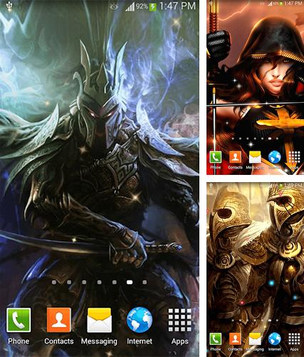 Warrior by Dream World HD Live Wallpapers