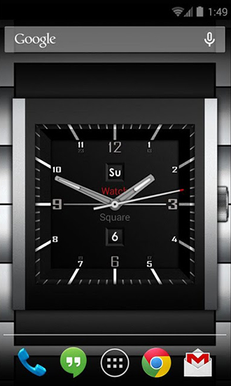 Download Watch square lite - livewallpaper for Android. Watch square lite apk - free download.
