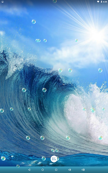 Download Water bubble - livewallpaper for Android. Water bubble apk - free download.