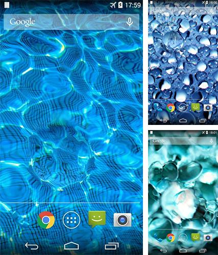 Download live wallpaper Water drop for Android. Get full version of Android apk livewallpaper Water drop for tablet and phone.