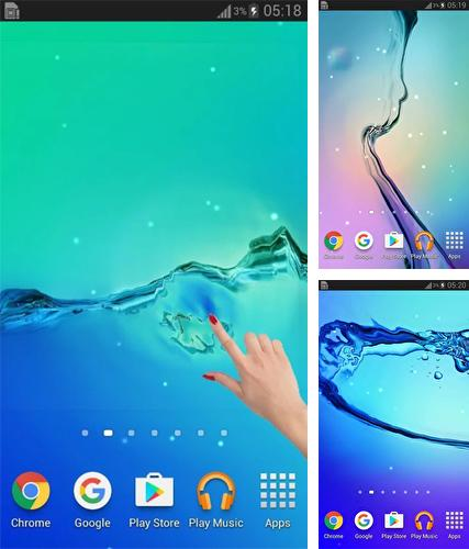 Download live wallpaper Water galaxy for Android. Get full version of Android apk livewallpaper Water galaxy for tablet and phone.